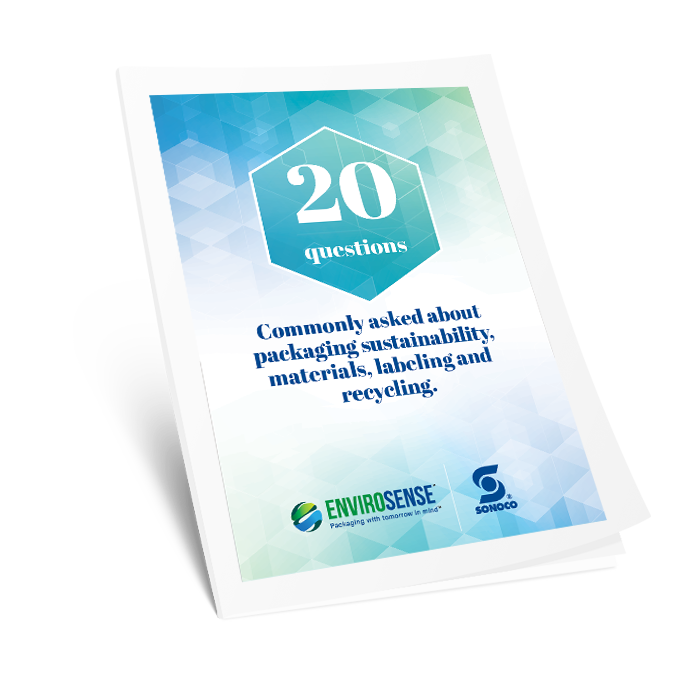 20 Questions Commonly Asked About Packaging Sustainability, Materials, Labeling, and Recycling - E-book